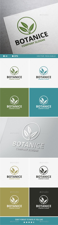 Botanice Logo - Nature Logo Templates