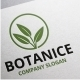 Botanice Logo - GraphicRiver Item for Sale