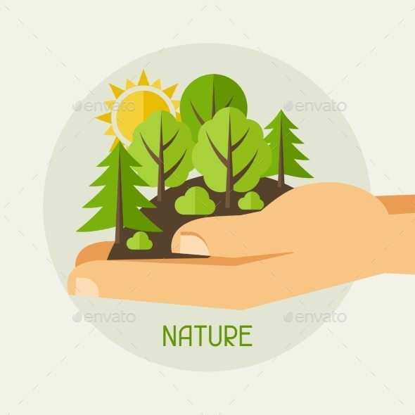 Ecology Protection Concept - Nature Conceptual