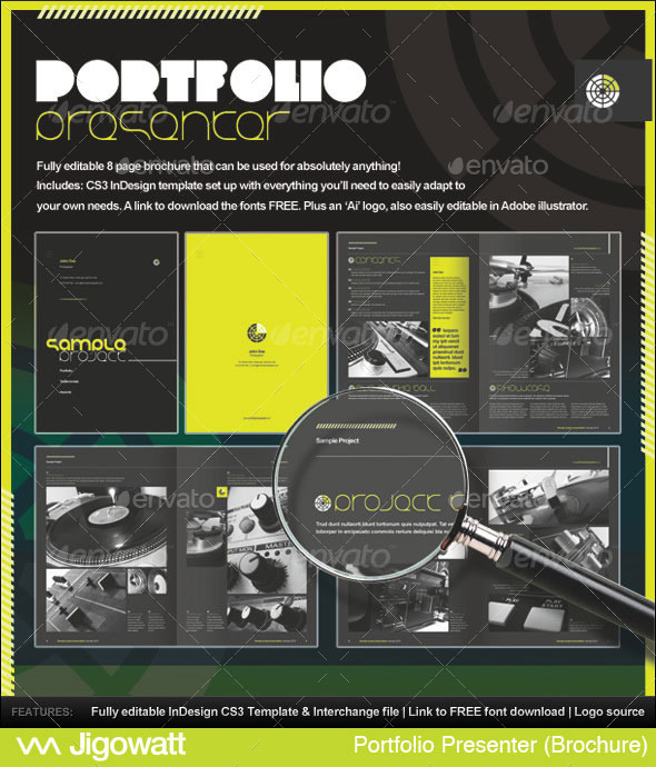 Portfolio Presenter - Corporate Brochures