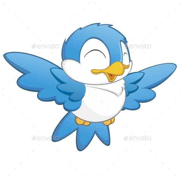 Cartoon Bird - Animals Characters