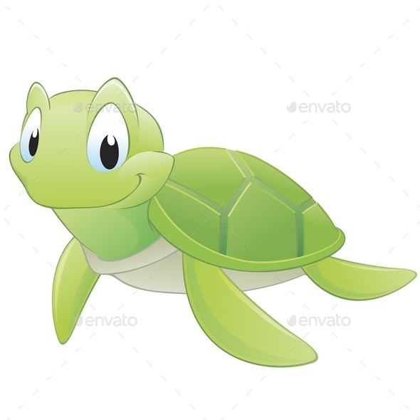 Cartoon Turtle - Animals Characters