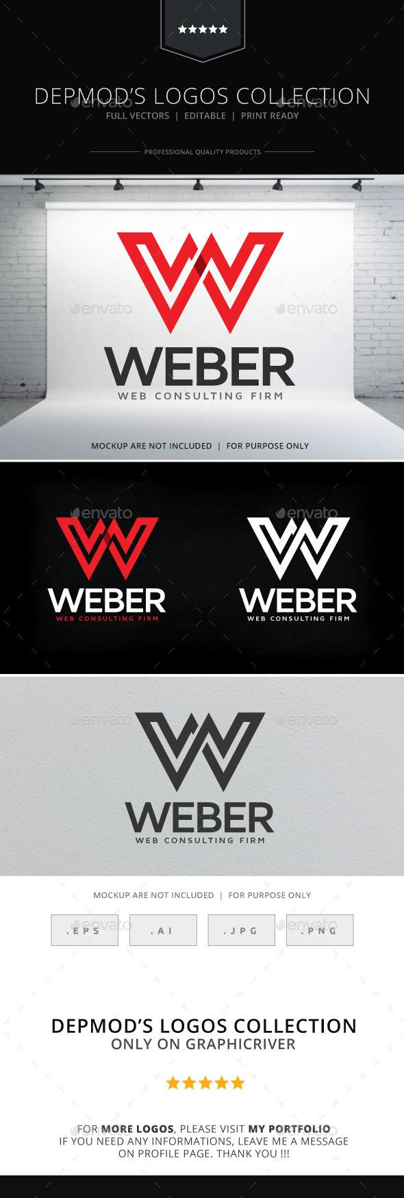 Weber Logo - Letters Logo Templates