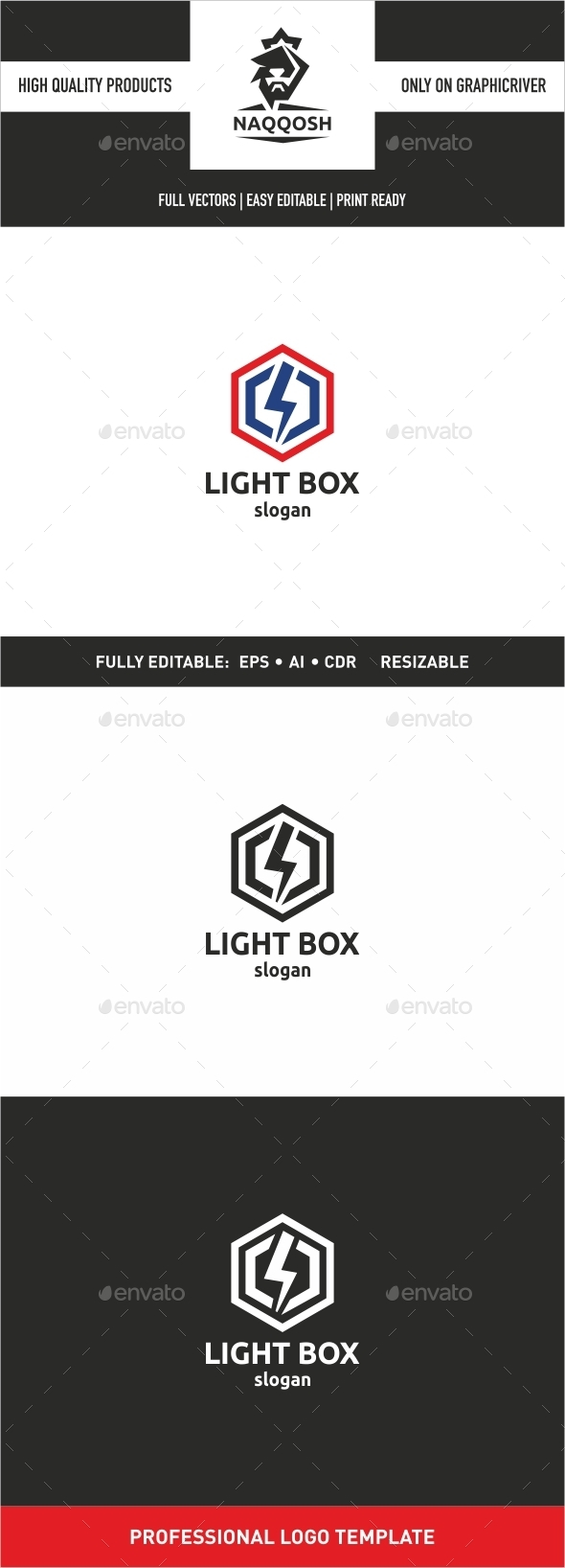 Light Box - Symbols Logo Templates
