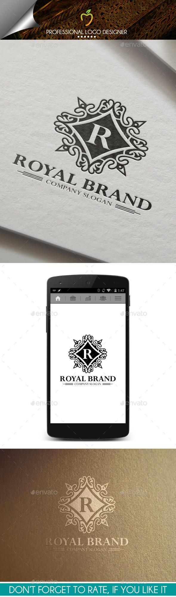 Royal Brand Crest Logo - Crests Logo Templates