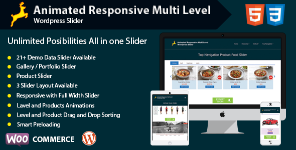 Animated Responsive Multi Level WordPress Slider - CodeCanyon Item for Sale