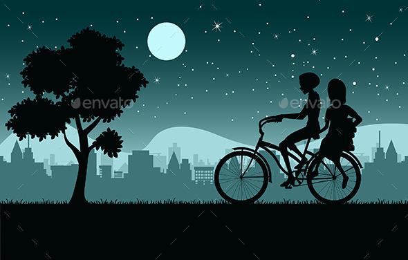 Bike - Objects Vectors