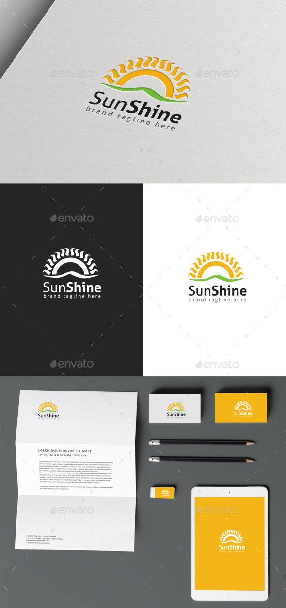 Sun Shine - Nature Logo Templates