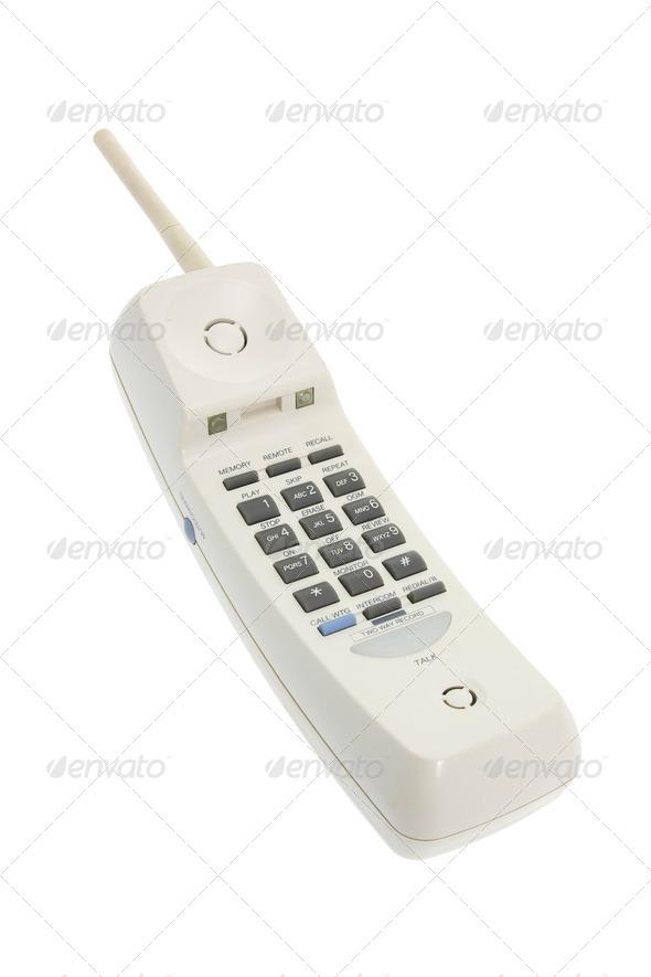 Cordless Phone - Stock Photo - Images