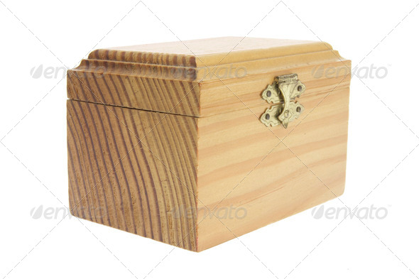 Wooden Box - Stock Photo - Images