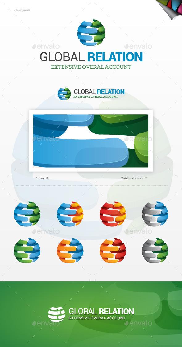 Global Relation Logo - Symbols Logo Templates