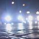 Night Traffic on the Stone Road