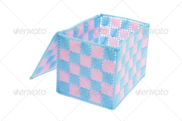 Checkered Box - Stock Photo - Images