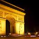 Arc Du Triomphe At Night, Paris France 11 - VideoHive Item for Sale