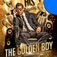 Golden Boy Birthday Flyer Template