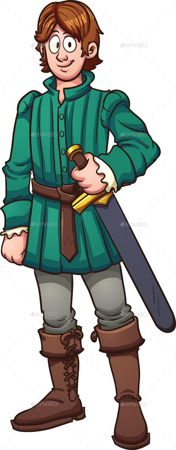 Medieval Prince - People Characters