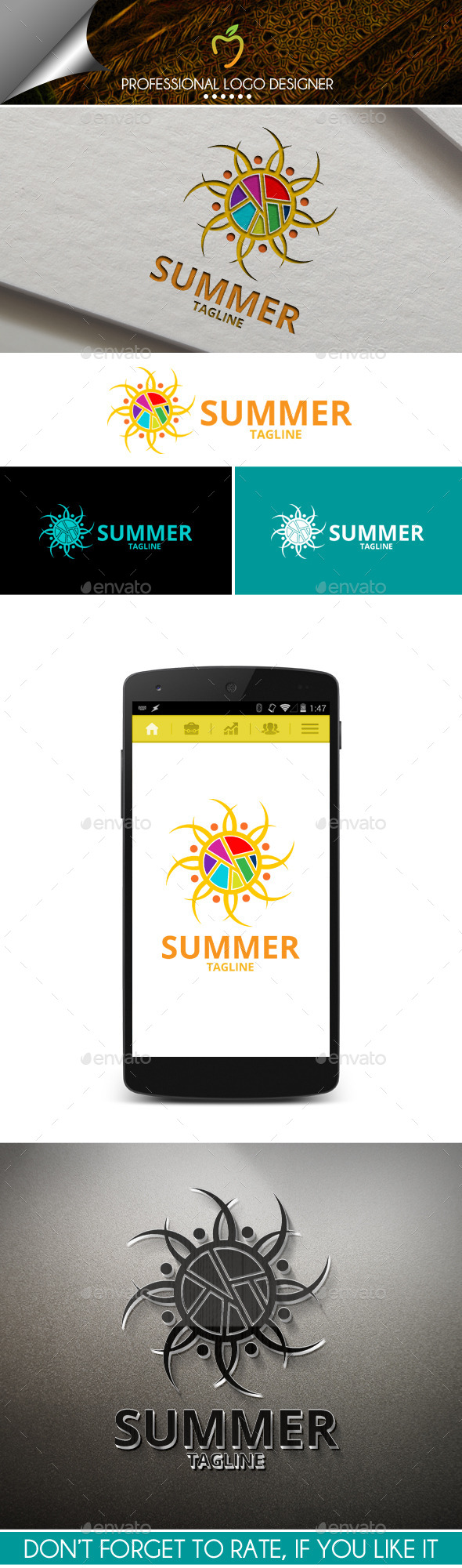 Summer Logo - Abstract Logo Templates