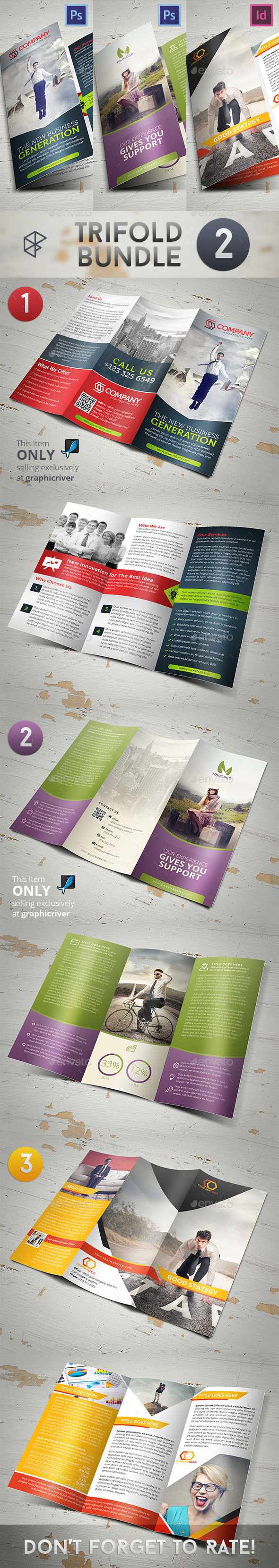 Trifold Bundle 2 - Corporate Brochures