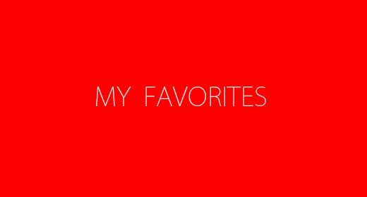 My Favotite