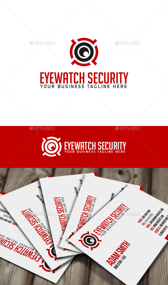 Eyewatch Security Logo - Abstract Logo Templates