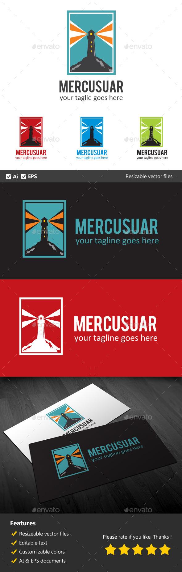Mercusuar - Buildings Logo Templates