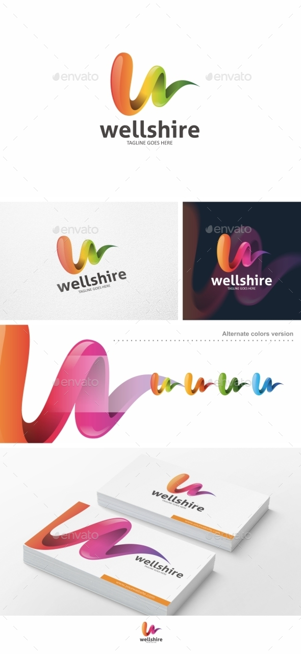 Wellshire - Logo Template - Abstract Logo Templates
