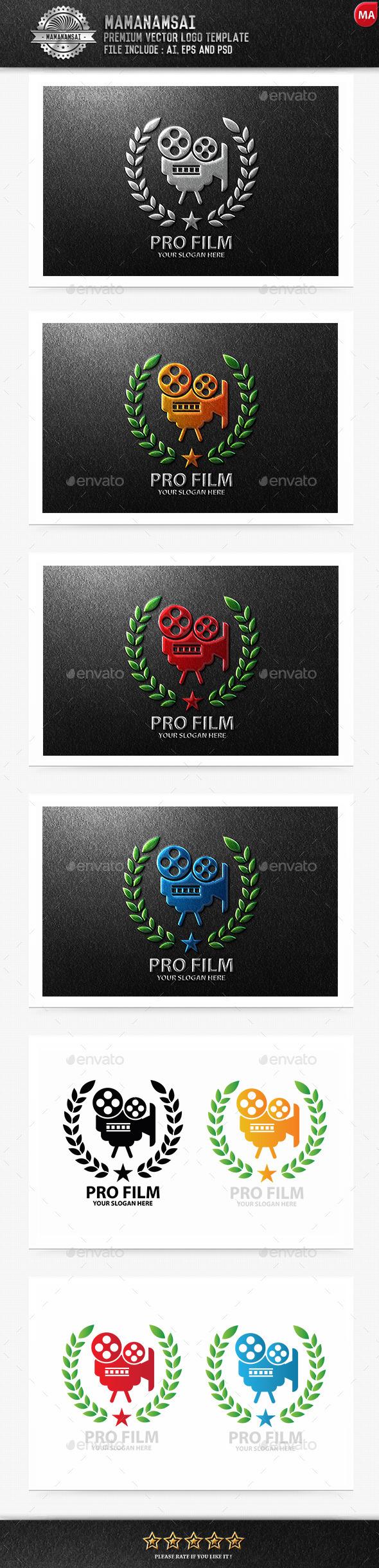 Pro Film Logo - Logo Templates
