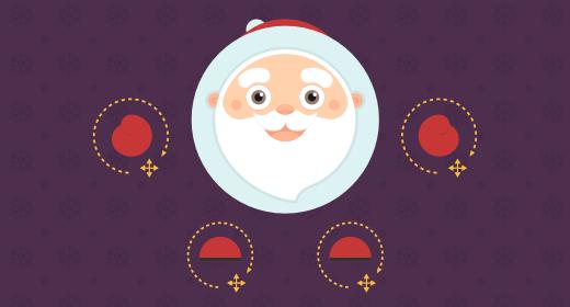 Cute Santa Mascot Kit