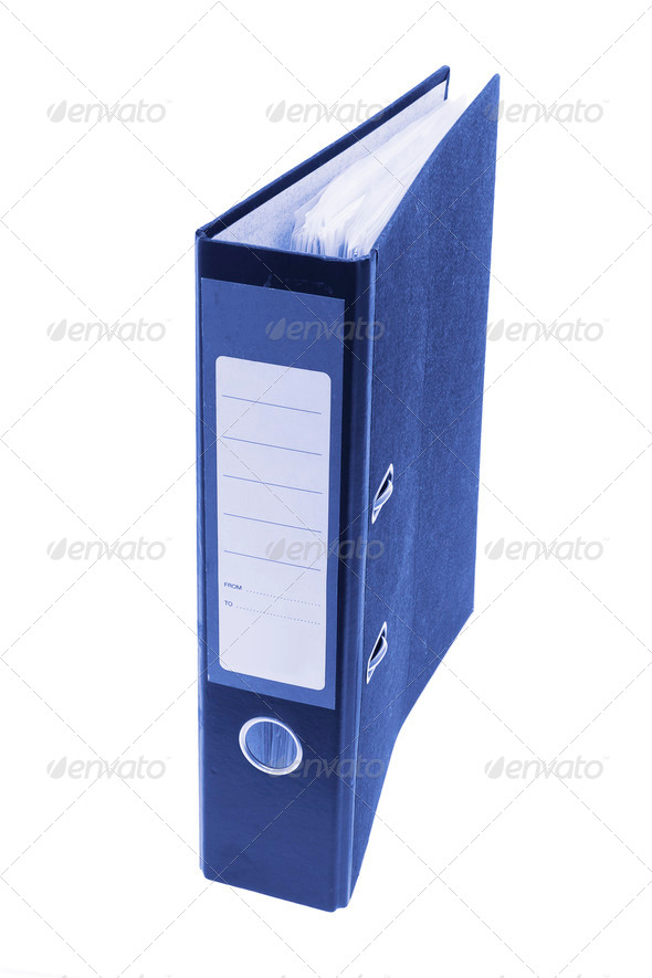 Ring Binder - Stock Photo - Images