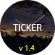 TICKER: Responsive Countdown Clock Landing Page Nulled