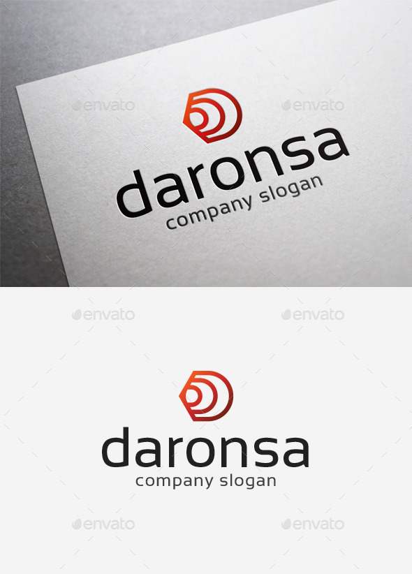 Daronsa Logo - Letters Logo Templates