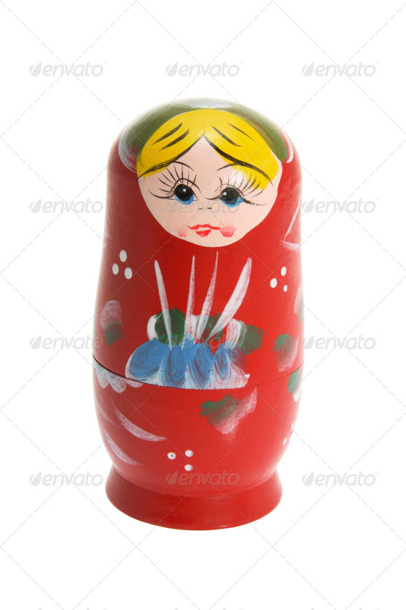 Russian Nesting Doll - Stock Photo - Images