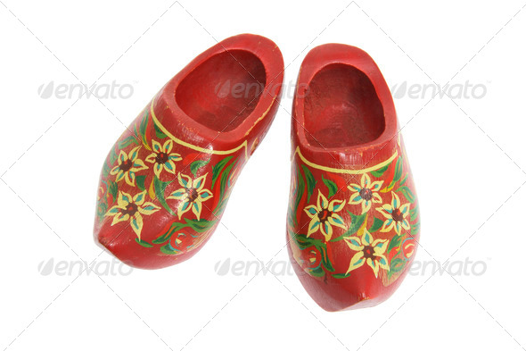 Wooden Clogs Souvenir - Stock Photo - Images