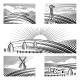 Retro Rural Landscapes - GraphicRiver Item for Sale