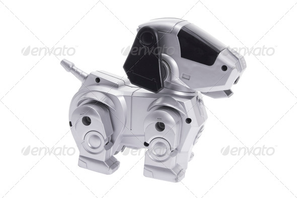Toy Robot Dog - Stock Photo - Images