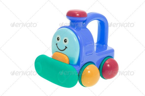 Plastic Toy Train - Stock Photo - Images