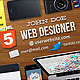 Web Designer Facebook Timeline Cover - GraphicRiver Item for Sale