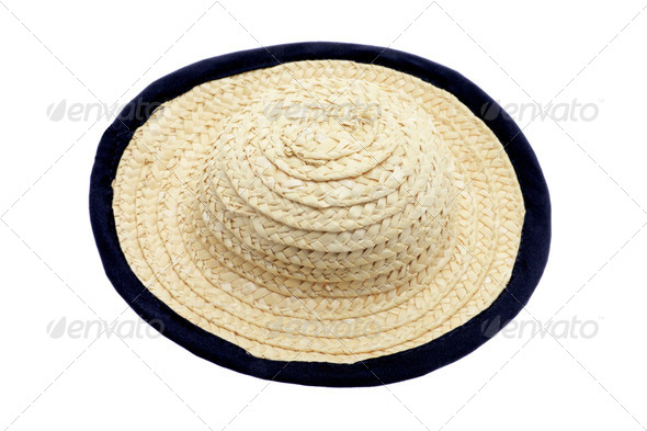 Straw Hat - Stock Photo - Images
