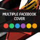Multiple Triangle Facebook Cover Template - GraphicRiver Item for Sale