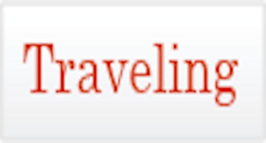 Usage - Traveling