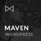 Maven - Responsive Portfolio WordPress Theme Nulled