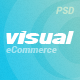 Visual - eCommerce PSD Template Nulled