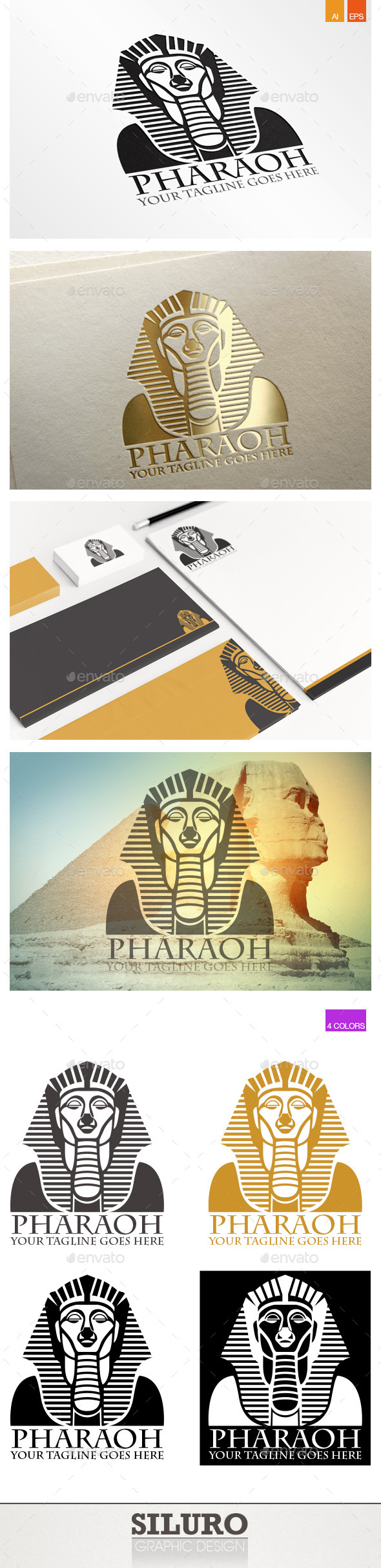 Pharaoh Logo - Humans Logo Templates