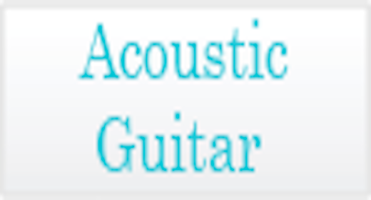 Instrumentation - Acoustic Guitar
