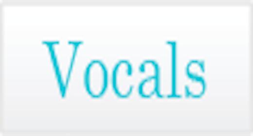 Instrumentation - Vocals
