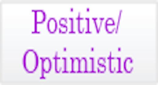 Mood - Positive Optimistic