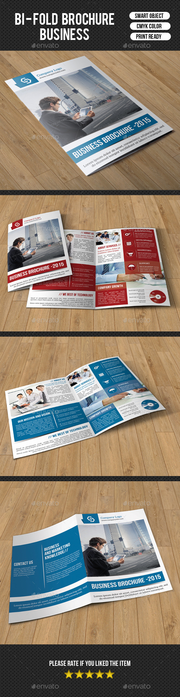 Trifold Business Brochure-V213 - Corporate Brochures