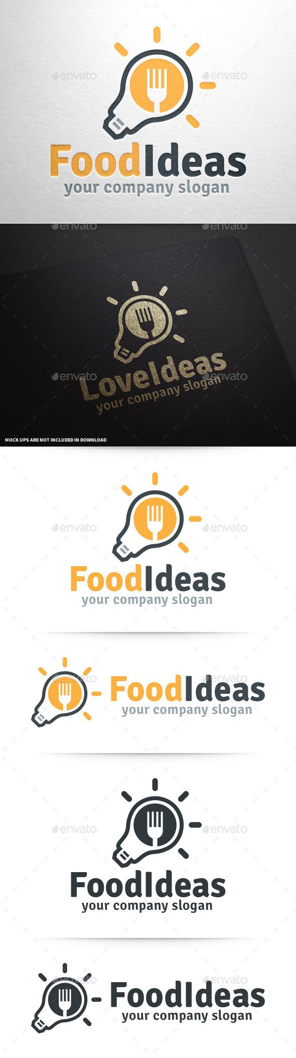 Food Ideas Logo Template - Food Logo Templates
