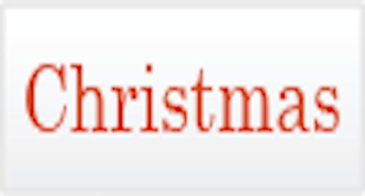 Usage - Christmas