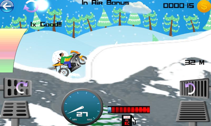 Moto X Bikes Hill Climbing Physics Game - Cocos2dX 3.15.1